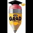 """41"""" No 1 Grad Pencil - Graduation"""