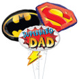 Super Dad Father's Day Balloon Bouquet
