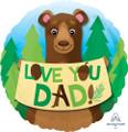 "18"" Love you Dad Bear"