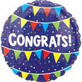 """18"""" Congrats Bunting"""