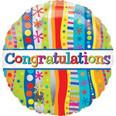 "18"" Congratulations Bold and Wavy"