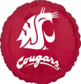 "18"" Washington State University  College Mylar Balloon"