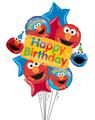 Elmo and Friends Birthday Banner Bouquet