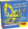 HABA Caution, Under Construction A Pocket Card Game for Ages 5+