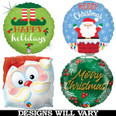Large Christmas Balloon Bouquet