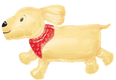 "40"" Jumbo Dog Balloon"