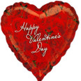 18″ Valentine's Day Classic Photo of Roses Heart