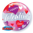 "22"" Red and Pink Hearts Bubble Balloon"