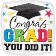 Grad You DId It!  Ballooon Bouquet