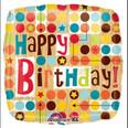 "18"" Birthday Arrows Foil Balloon"