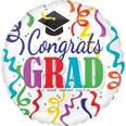 """18"""" Congrats Grad Streamers"""