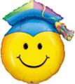Grad Cap Smiley Face SuperShape