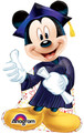 Grad Mickey Mouse Graduation Balloon