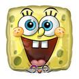 "18"" SpongeBob Balloon Square Face"