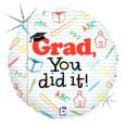 "18"" Grad You Did It - juvenile"