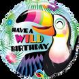 """18"""" Round Have a Wild Birthday Balloon"""