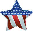 "19"" Patriotic Star"
