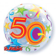 "22"" 50 Brilliant Stars Bubble Balloon"