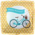 Bicycle Birthday Banner