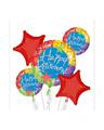 Happy Retirement Stars Bouquet Of Balloons
