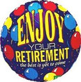 enjoy your retirement balloon
