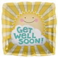 "18"" Get Well Sunshine Square"