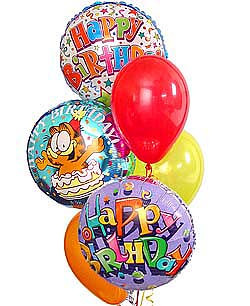 Big Birthday Balloon Bouquet Image 1