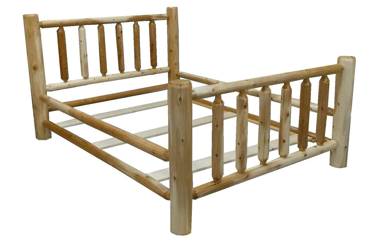 Original Rustic Cedar Log Bed *Free Shipping*
