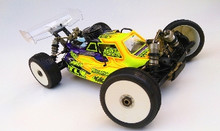 LFR Assassin body (clear) for the TLR 4.0 nitro buggy