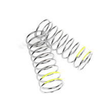TKR6105 – LF Shock Spring Set (front, 1.6×9.75, 4.44lb/in, 57mm, yellow)