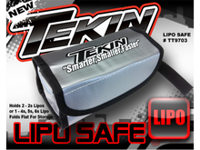 Tekin LiPo Charging and Storage Safe Bag