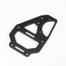 TKR6635C – Center Diff Top Plate and Fan Mount (carbon fiber, EB/ET410)