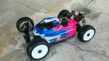 Leadfinger RC A2 Tactic body (clear) for Tekno NB.4.3.2.1