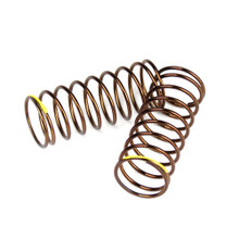 TKR7235 – Shock Spring Set (front, 1.4×9.375, 4.00lb/in, 50mm, yellow)