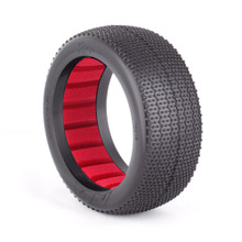 1:8 BUGGY RASP (SOFT) WITH RED INSERTS (ONE PAIR)