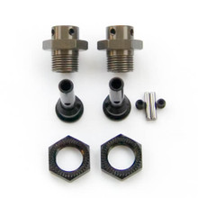TKR1654-17 – 17mm Hub Adapters for M6 Driveshafts (for Slash/Stmpd 4×4, 2WD, 2pcs)