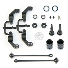 TKR1951X – M6 Driveshafts and Hub Carriers (2WD Electric Slash/Nitro Rustler/Nitro or Electric Stampede, rear)