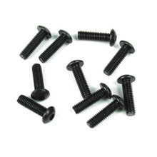TKR1444 – M4x12mm Button Head Screws (black, 10pcs)