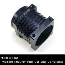 TKR4140 – V3 Motor Mount (CNC alum, black ano, for 40mm motors)