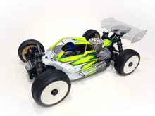 A2.1 TACTIC BODY (CLEAR) W/ FRONT SCOOP FOR TEKNO NB48 2.0 NITRO BUGGY