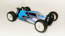 A2 Tactic body and wing combo (clear) for AE B74 1/10 4wd Buggy