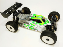 A2.1 TACTIC BODY (CLEAR) W/ FRONT SCOOP FOR TEKNO EB48 2.0 ELECTRIC BUGGY