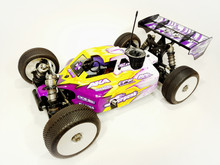 A2.1 BODY (CLEAR) FOR SERPENT SRX8 NITRO BUGGY