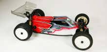 A2 Tactic body (clear) for Kyosho RB7, Plus 2x Tactic Wings