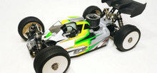 LFR A2.1 TACTIC BODY (CLEAR) W/FRONT WING FOR TLR 8IGHT-X NITRO BUGGY