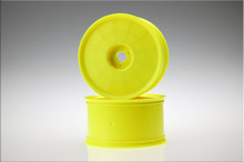 JConcepts Elevater-1/8 Truck Wheel Standard Offset Yellow 4pc #3334Y Truggy