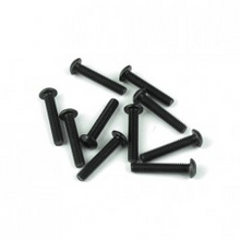TKR1407 M3x16mm Button Head Screws (black, 10pcs)