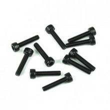 TKR1528 M3x18mm Cap Head Screws (black, 10pcs)