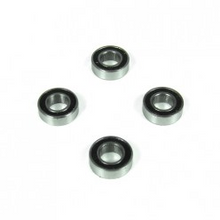 TKRBB06124 Ball Bearings (6x12x4mm, 4pcs)