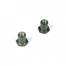 TKR5122  Steering Rack Bushings (aluminum, gun metal anodized, 2pcs)